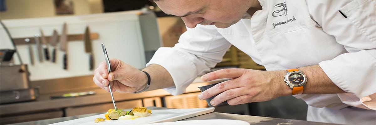 L'art culinaire au bout des doigts…