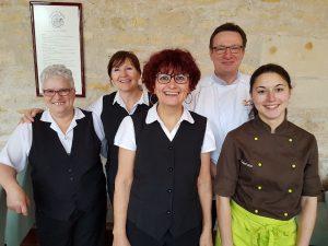 Equipe cuisine Conseil General Nièvre